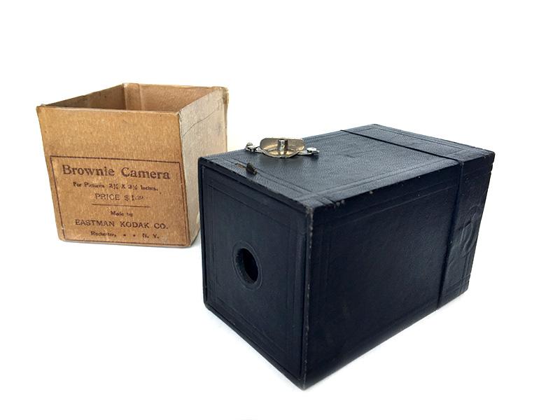 La Kodak Brownie del 1900, collezione personale