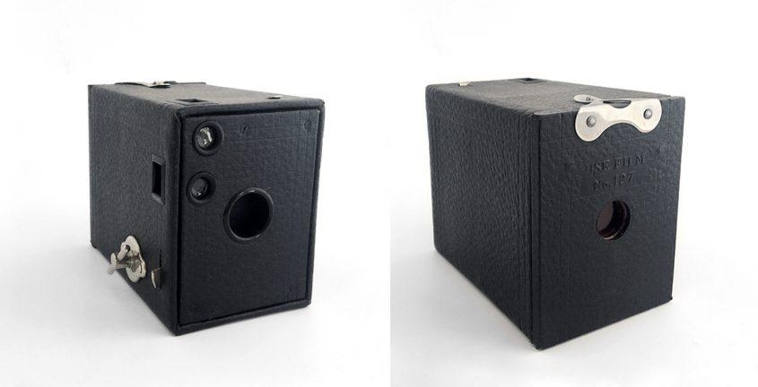 Kodak 0 Brownie prima versione