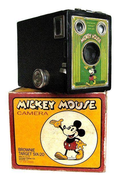Kodak Mickey Mouse con scatola