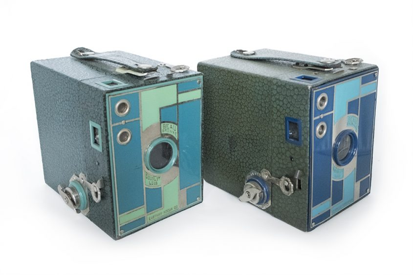 Kodak Beau Brownie blue green