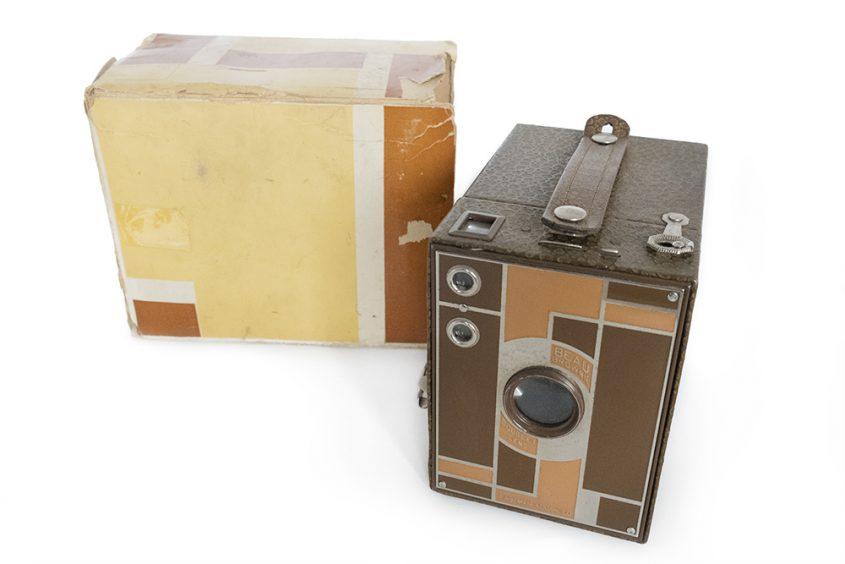 Kodak Beau Brownie tan