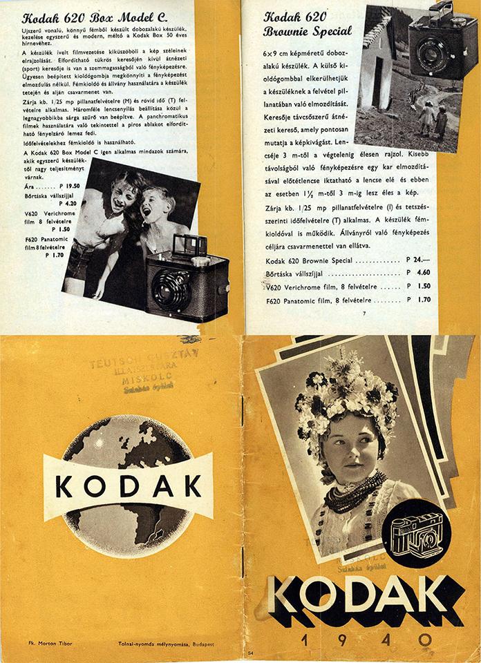 Kodak Box 620 C pubblicità